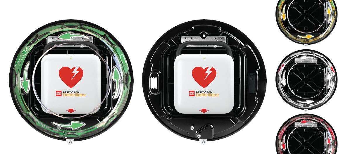 Rotaid CR2 AED binnenkast